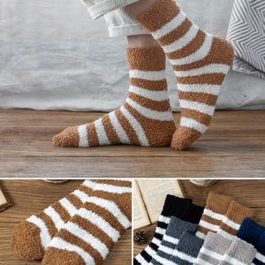 Brand New Sleeping Fluffy socks